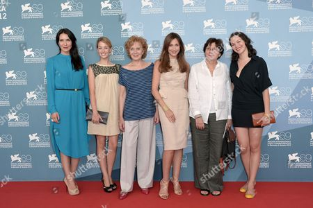 Editorial photo of 'Lines of Wellington' film photocall, 69th Venice Film Festival, Italy - 04 Sep 2012