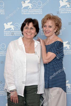 Director Valeria Sarmiento and Marisa Paredes