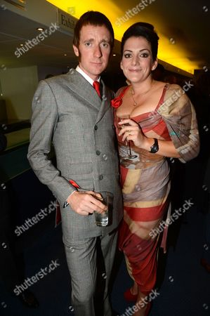 Stock Image of Bradley Wiggins and wife Cath