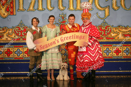 Michael Pickering, Ashleigh Butler, Stephen Mulhern, Eric Potts and Pudsey