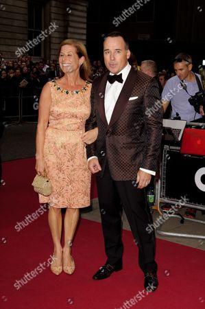 Stock Image of Jo Levine and David Furnish