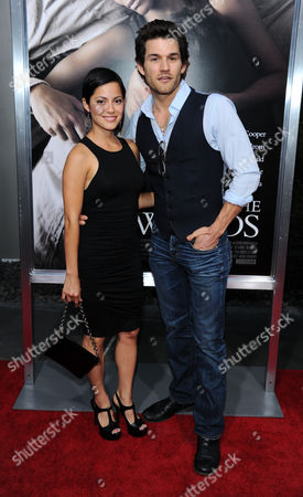 Stock Image of Sylvia Brindis and Johnny Whitworth