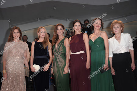 Editorial image of 'Lines of Wellington' film premiere, 69th Venice Film Festival, Italy - 04 Sep 2012