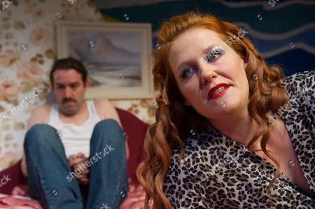'Kissing Sid James' - Alan Drake and Charlotte McKinney