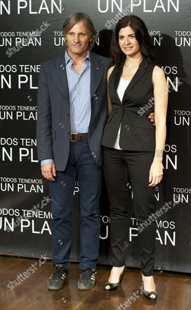 Viggo Mortensen and Soledad Villamil