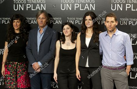 Editorial image of 'Everybody Has a Plan' film photocall, Madrid, Spain - 05 Sep 2012