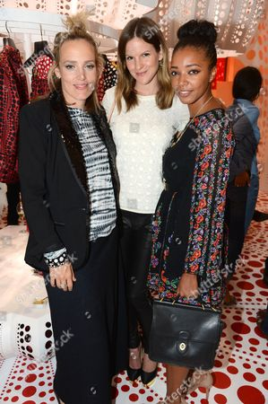 Bay Garnett, Fuschia Sumner and Kesewa Aboah