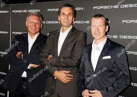 Editorial image of Porsche Design 40th Anniversary Celebration, Los Angeles, America - 04 Sep 2012