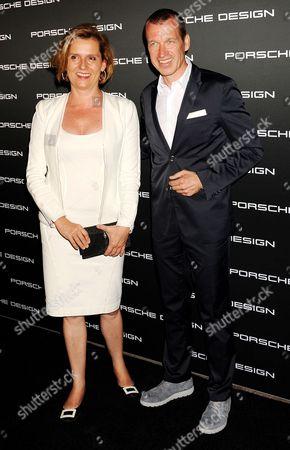 Stock Photo of Louise Kiesling and Juergen Gessler