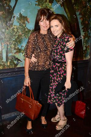 Davina McCall and Shebah Ronay
