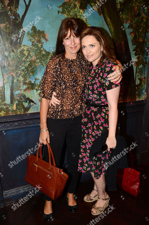 Stock Image of Davina McCall and Shebah Ronay