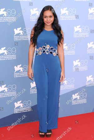 Editorial image of 'Thy Womb' film photocall, 69th Venice Film Festival, Italy - 06 Sep 2012