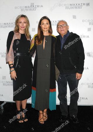 Stock Photo of Luba Azria, Barbara Schulz, Max Azria