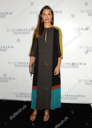 Editorial image of BCBG Max Azria show, Mercedes-Benz Fashion Week, New York, America - 06 Sep 2012