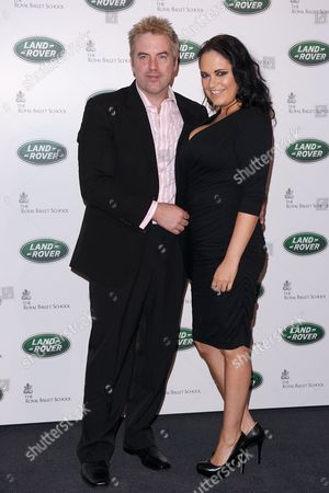 Stock Picture of Donal MacIntyre and Ameera MacIntyre