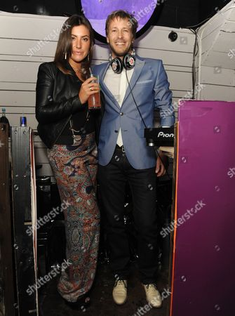 Gabriella Ellis and Rick Parfitt Jnr.