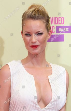 Editorial picture of 2012 MTV Video Music Awards Arrivals, Los Angeles, America - 06 Sep 2012