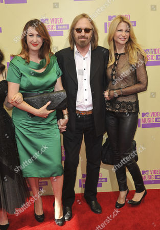 Adria Petty, Tom Petty and Dana York