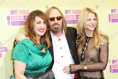 Stock Photo of Adria Petty, Tom Petty and Dana York