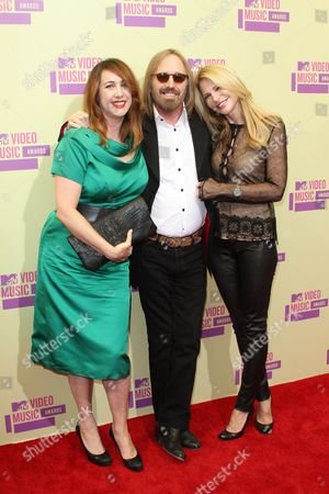Stock Picture of Adria Petty, Tom Petty and Dana York