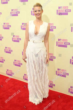 Editorial image of 2012 MTV Video Music Awards Arrivals, Los Angeles, America - 06 Sep 2012