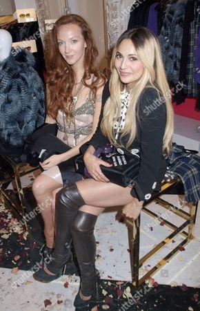 Oliva Grant and Zara Martin