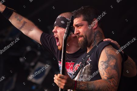 Hatebreed perform at Bloodstock Open Air Festival 11/08/12