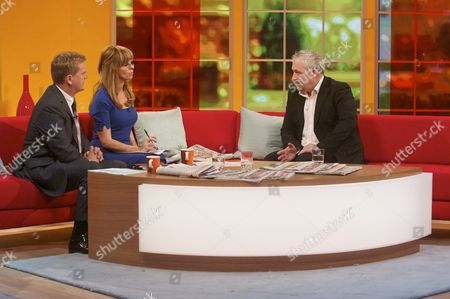 Aled Jones and Kate Garraway with Mark Clayton