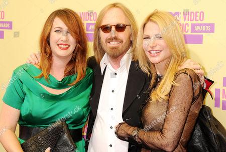 Stock Picture of Adria Petty, Tom Petty and Dana York