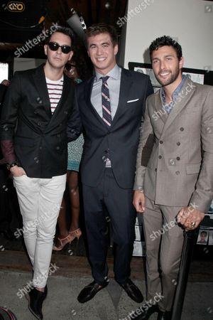 Gabe Sapporta, Nathan Adrian and Noah Mills