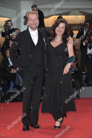 Stock Photo of Ulrich Seidl and Maria Hofstatter