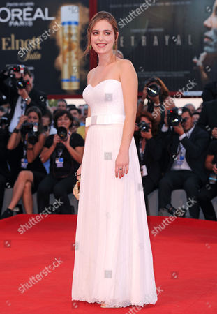 Editorial picture of 69th Venice Film Festival, Closing Ceremony, Venice, Italy - 08 Sep 2012