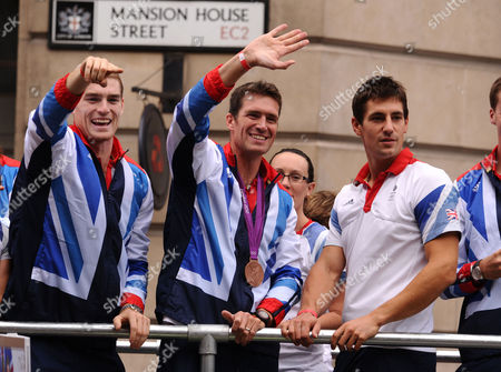 Editorial image of Team GB Olympic and Paralympic Athletes Parade, London, Britain - 10 Sep 2012