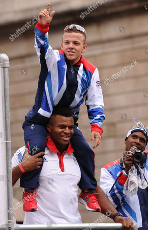 Stock Picture of Kyron Duke and Lawrence Okoye
