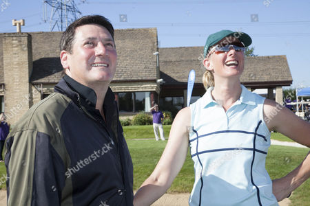 Stock Photo of Tony Hadley and Sarah Winckless
