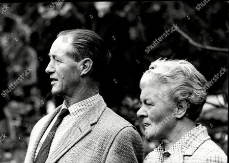 Mr And Mrs Edgar Coles Who Survived An Air Crash In Which 37 Died In The Crash At Black Down Hill On The Flight From Malaga To Heathrow. 65 Sheep Were Also Killed As Was The Actress June Thorburn.