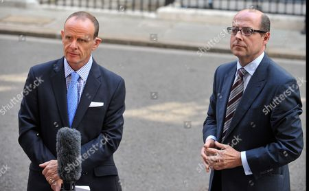 BBC News Chief Political Correspondent Norman Smith and political editor Nick Robinson