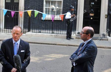 BBC News Chief Political Correspondent Norman Smith and political editor Nick Robinsons