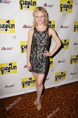 Editorial picture of 'Chaplin' the musical opening night, New York, America - 10 Sep 2012