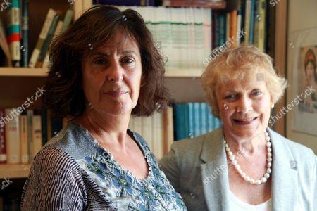 Gillian Slovo and Sue MacGregor