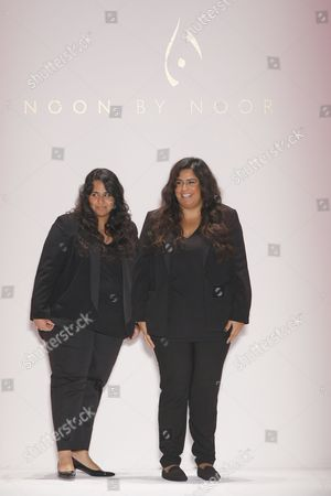 Stock Image of Noor Al Khalifa and Haya Al Khalifa