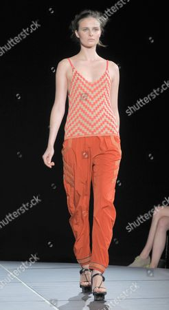 Editorial picture of Jen Kao show, Spring/Summer 2013, Mercedes-Benz Fashion Week, New York, America - 07 Sep 2012