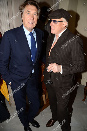 Bryan Ferry and Anthony Price