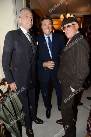 Guest, Bryan Ferry and Anthony Price