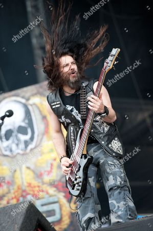 Derby United Kingdom - June 10: John Deservio Of American Heavy Metal Band Black Label Society Performing Live Onstage At Download Festival June 10