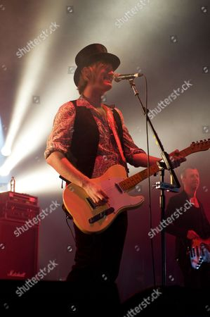 Derby United Kingdom - June 9: Peter Shoulder Of English Rock Band The Union Performing Live Onstage At Download Festival June 9