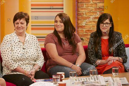 Jane, Lauren and Beth Nicklinson