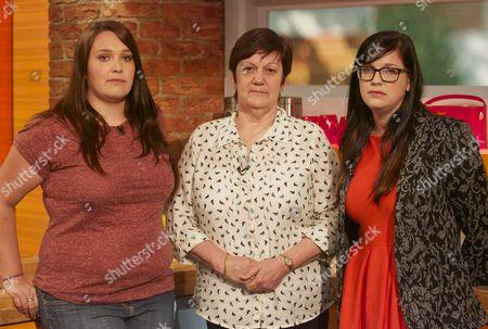 Lauren, Jane and Beth Nicklinson