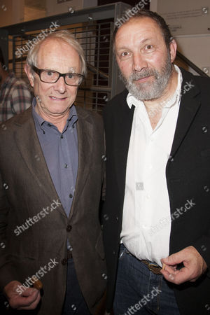 Ken Loach and Richard Hope (Duke of Albany)