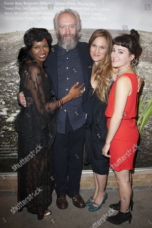 Editorial picture of 'King Lear' play press night after party at the Almeida Theatre, London, Britain - 11 Sep 2012